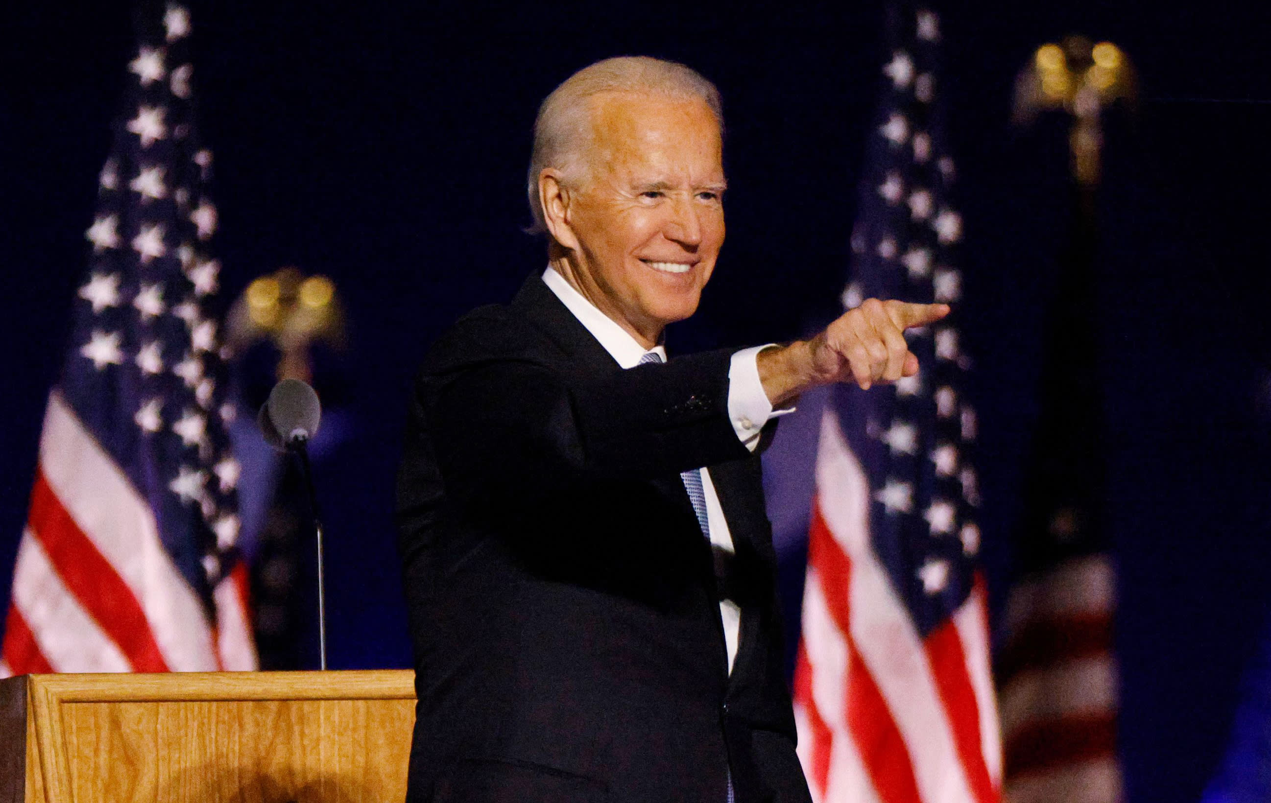 Read Joe Biden's first speech as president-elect