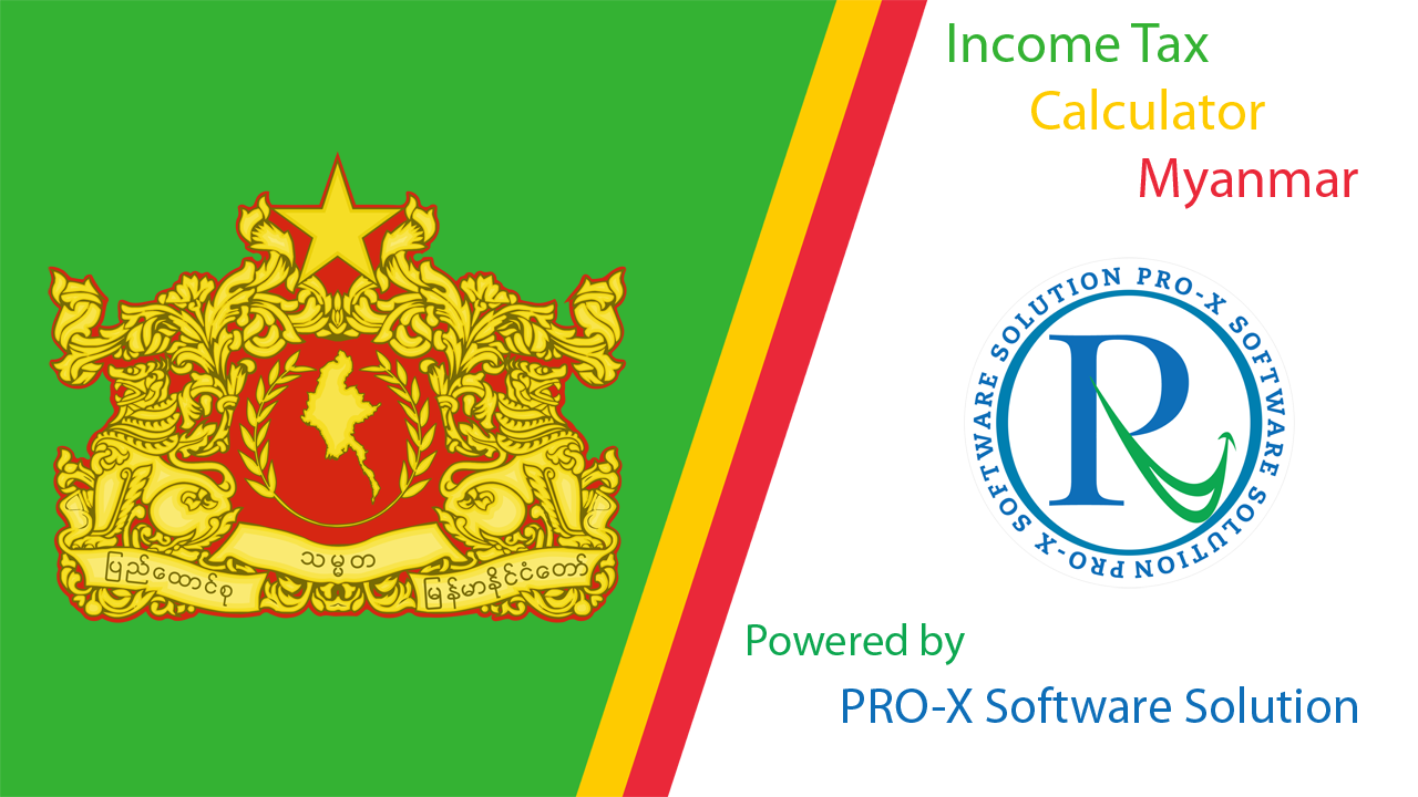 Myanmar Income Tax Calculator Mobile Application