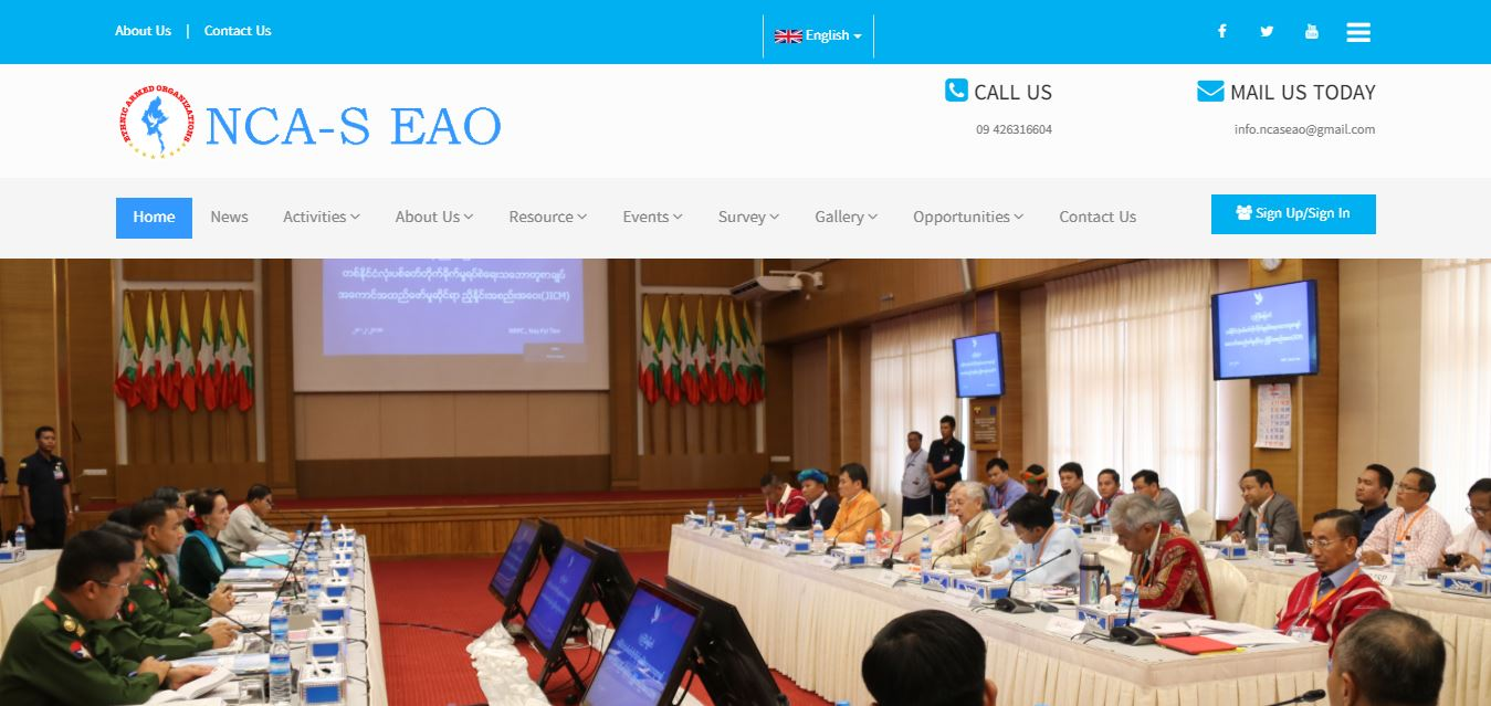 NCA-S EAO (Nationwide Ceasefire Agreement – Signatories, Ethnic Armed Organisations)