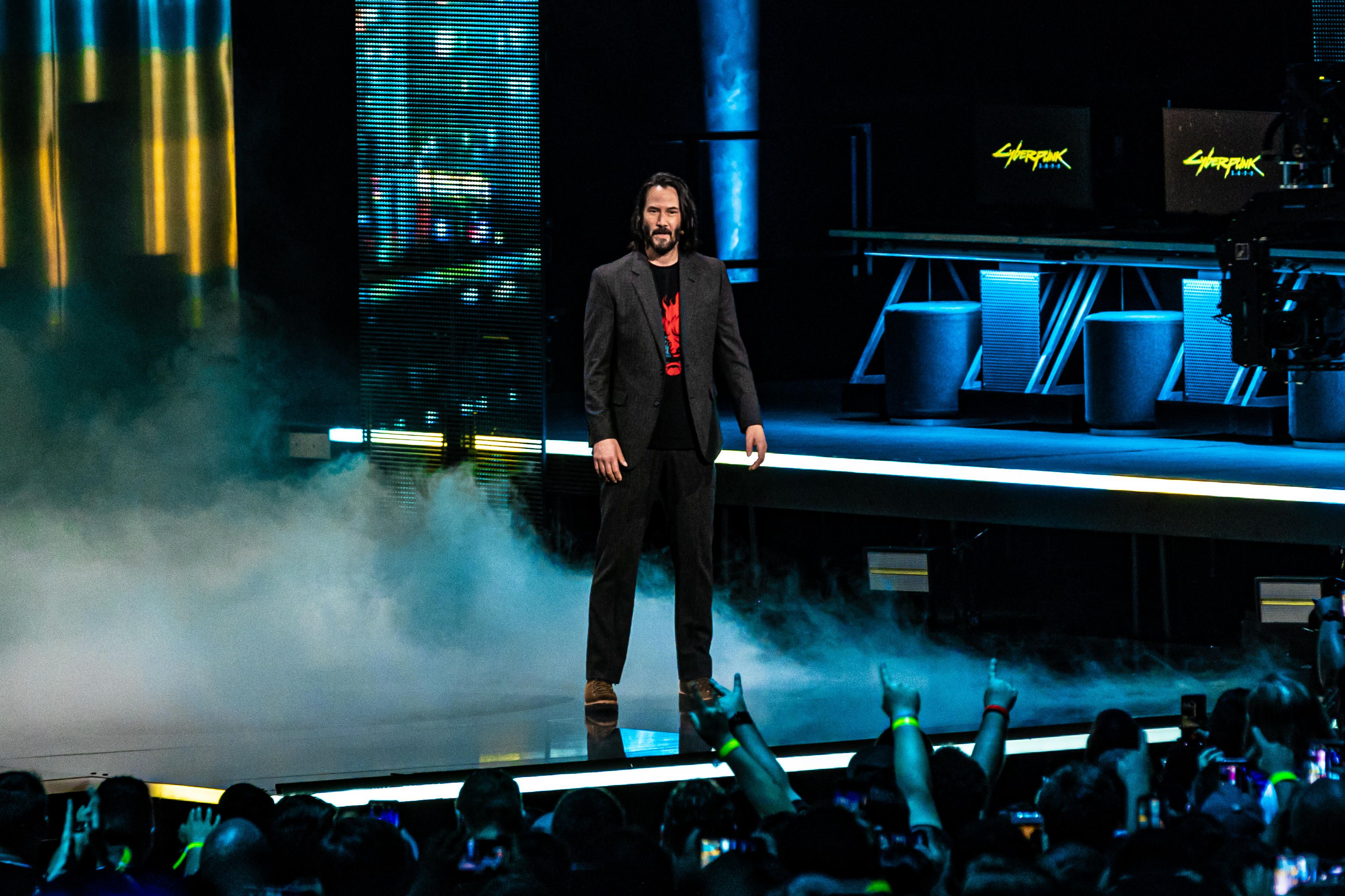 Keanu Reeves to star in Cyberpunk 2077